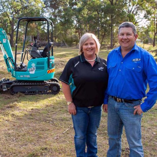 New business kicked off with Kobelco mini excavator