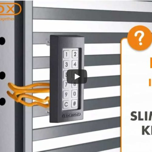 Learn how to install the Locinox SlimStone keypad
