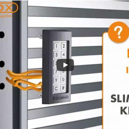 Learn how to install the Locinox SlimStone keypad